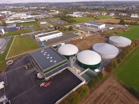 Image de la Centrale Biogaz de l'Aumaillerie