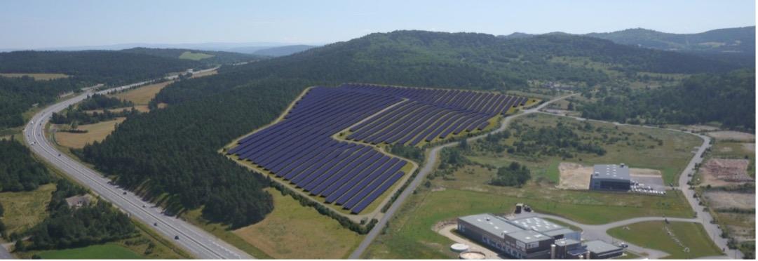Image d'illustration d'un parc photovoltaïque
