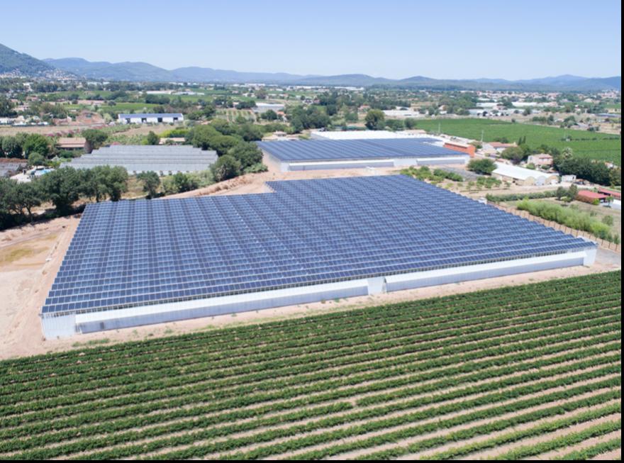 Image d'illustration d'une centrale photovoltaïque